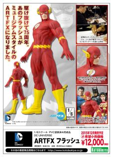 The Flash ArtFX Statue Diamond Comic Distributors SV135 Kotobukiya DC Comics