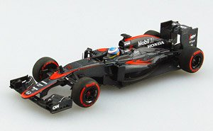 McLaren Honda MP4-30 2015 Middle Season Version No.14 (ミニカー)