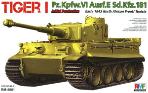 WWII German Tiger I Initial Production [North Africa 1943] (Plastic model)