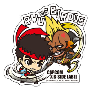 B-SIDE LABEL Sticker CAPCOM STREET FIGHTER RYU Japan import NEW Streetfighter