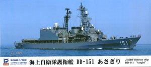海上自衛隊 護衛艦 DD-151 あさぎり 2015 (プラモデル)