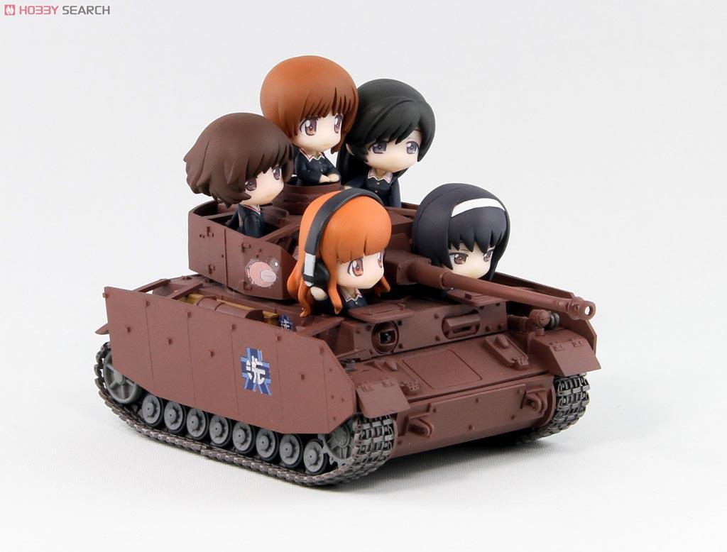 ガールズ&パンツァー IV号戦車D型改(H型仕様) エンディングVer. (フィギュア)