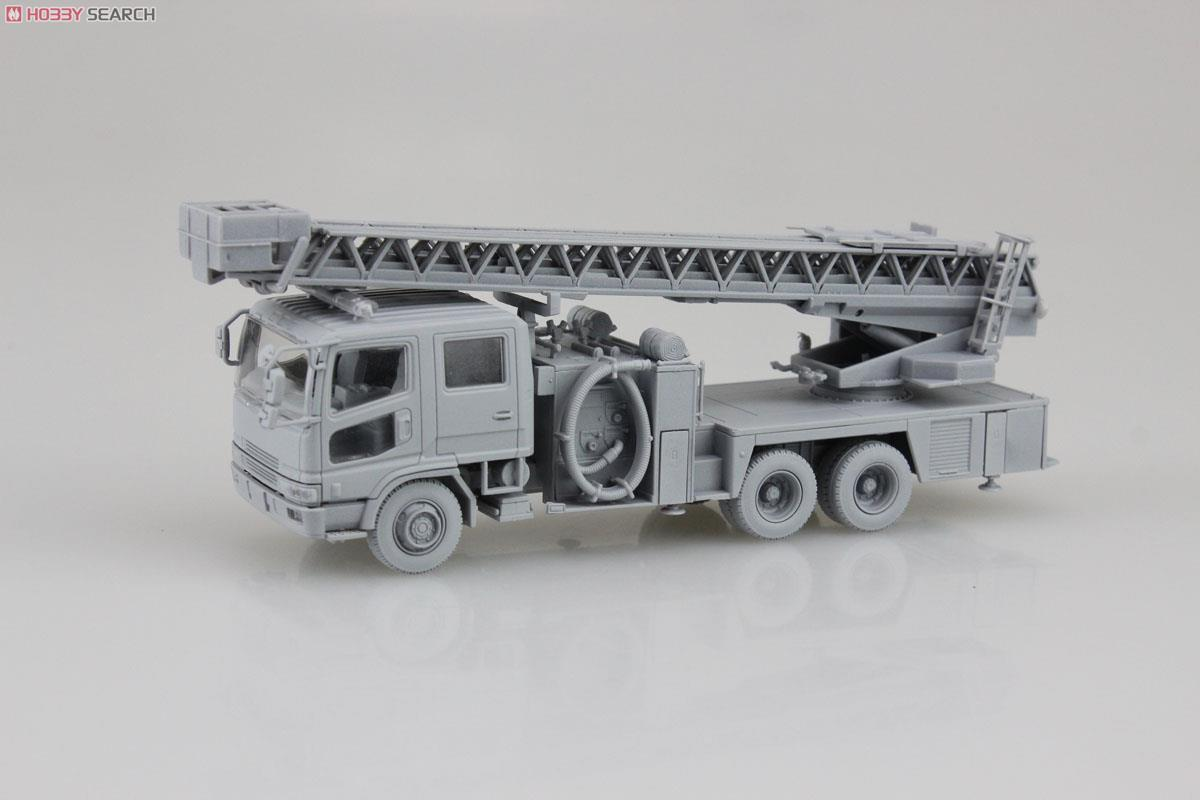 Ladder with Fire Engine (Otsu Municipal Fire Department East Ladder 1) (Model Car) Item picture1