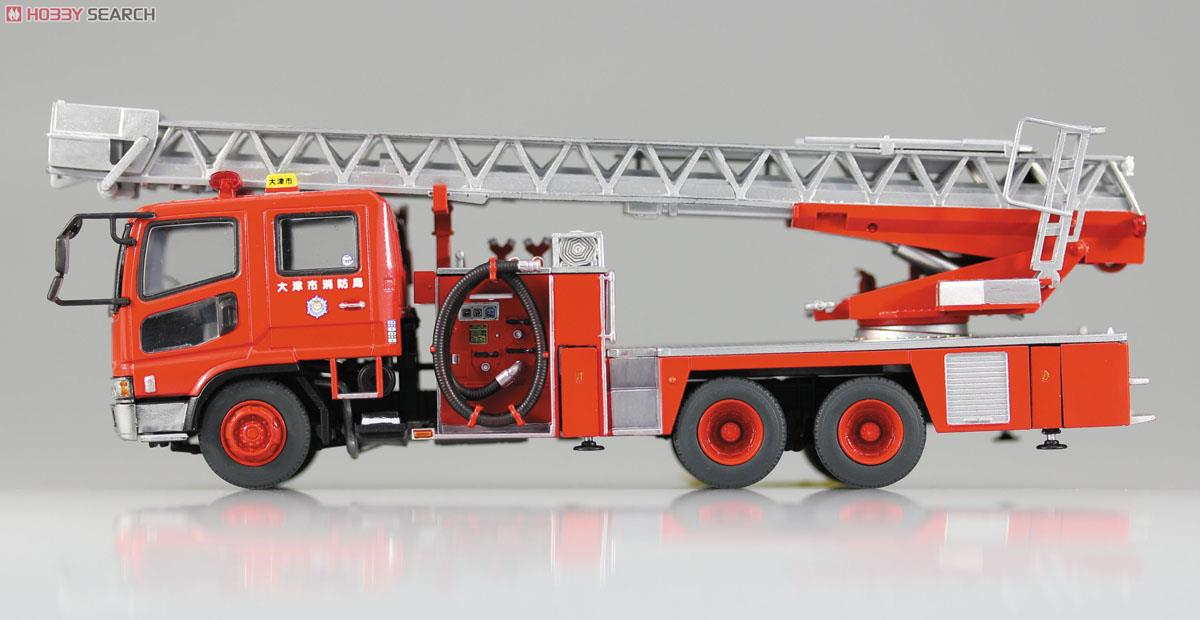 Ladder with Fire Engine (Otsu Municipal Fire Department East Ladder 1) (Model Car) Item picture4