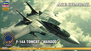F-14A トムキャット `エースコンバット ウォードッグ隊` (プラモデル)