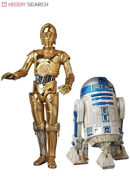 MAFEX No.012 MAFEX C-3PO (TM) & R2-D2 (TM) (ドール)