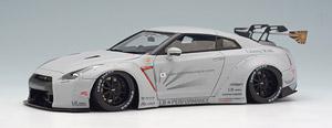 LB★WORKS R35 GT-R GT wing ver.マットライトグレー / LB★PERFORMANCE 20in.Wheel (国内限定60台予定) (ミニカー)