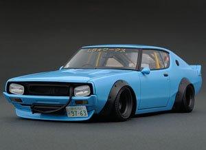 LB WORKS Kenmeri 2Dr Blue (ミニカー)