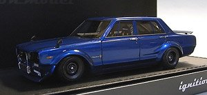 Nissan Skyline 2000 GT-R (PGC10) Semi Works Blue (ミニカー)