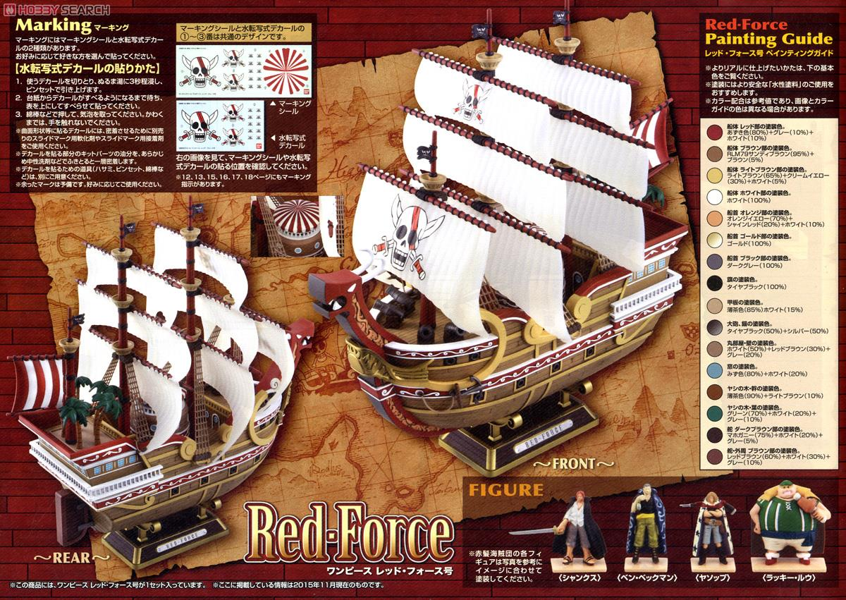Red Force (Plastic model) Color2