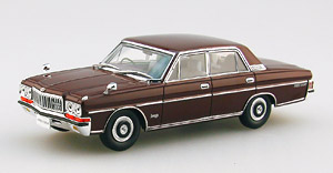 NISSAN PRESIDENT 252 BROWN (ミニカー)
