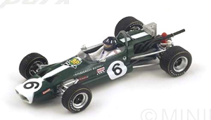Lotus 59 No.6 Winner Albi GP F2 1969 Graham Hill (ミニカー)