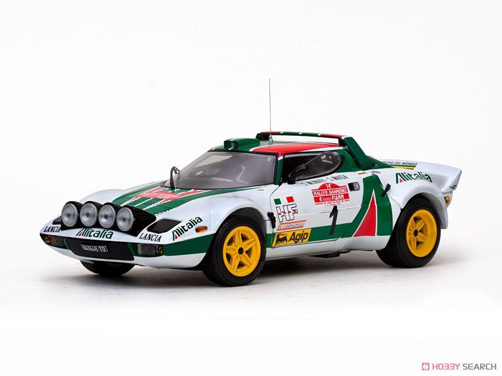 ランチア ストラトス HF 1976年サンレモラリー 2位 #1 S.Munari/S.Maiga (ミニカー)