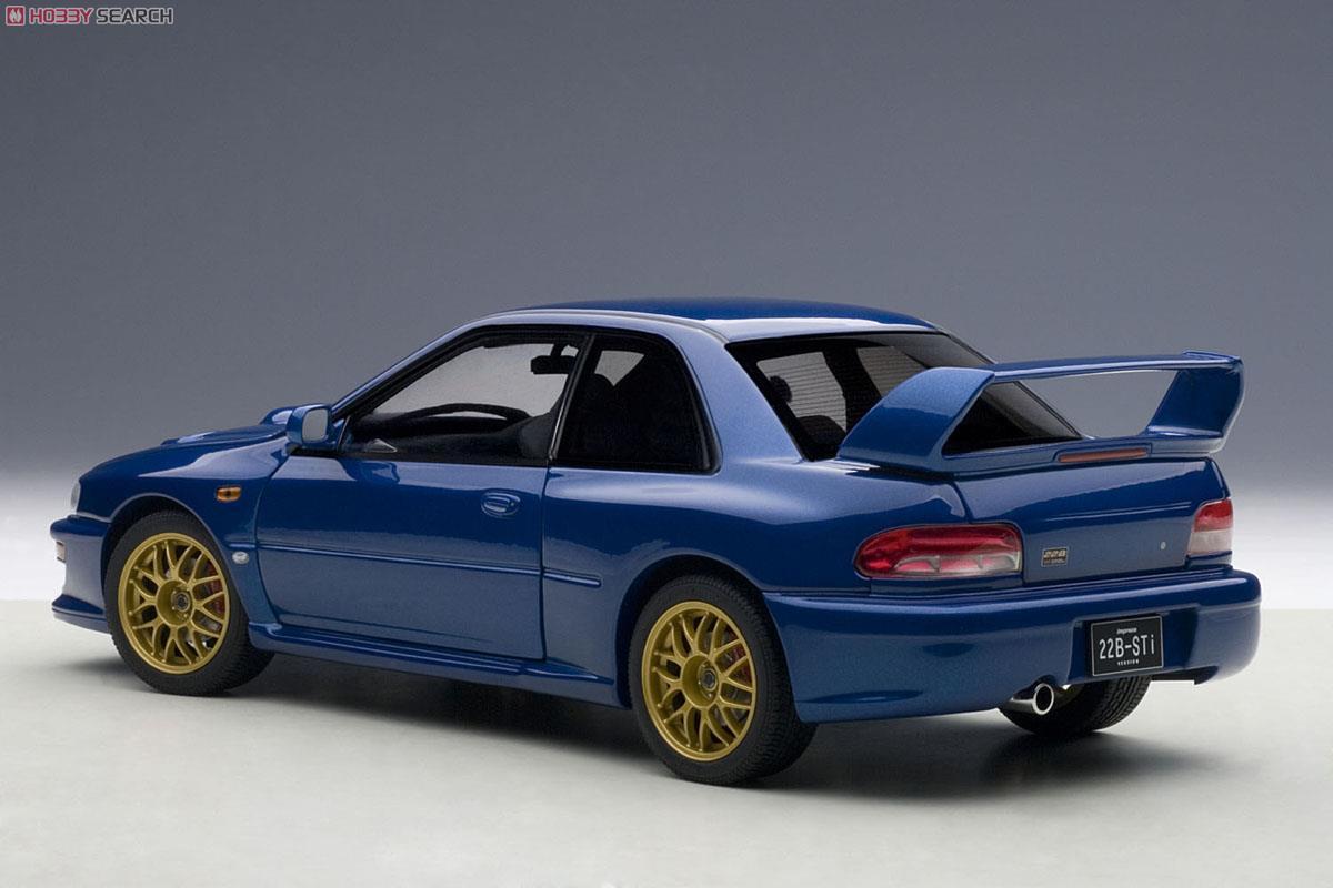 スバル インプレッサ 22B STi バージョン (ブルー) (ミニカー)