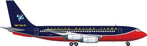 アメリカ Boeing-720旅客機 ロックスターツアー専用機 1979