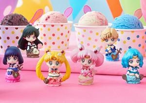 ぷちきゃらランド 美少女戦士セーラームーン アイスクリーム☆パーティー 6個セット (フィギュア)