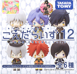 Koedaraizu 12 Touken Ranbu -ONLINE- Vol.2 (Set of 6) (PVC Figure)
