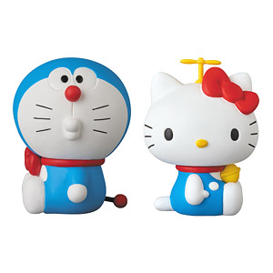 UDF DORAEMON meets HELLO KITTY DORAEMON × HELLO KITTY (2体セット) (完成品)