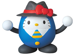 UDF DORAEMON meets HELLO KITTY ころばし屋 HELLO KITTY 1 (赤リボン) (完成品)