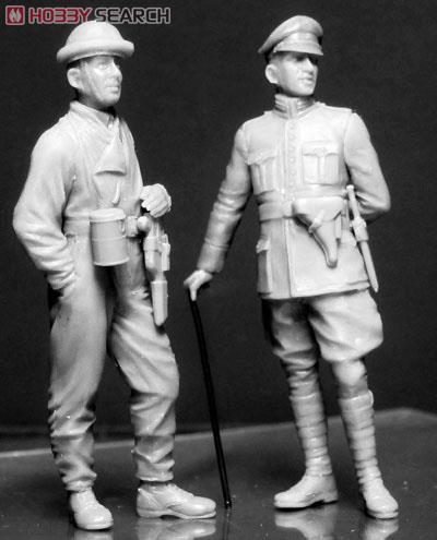 第一次大戦タンククルー6体・独仏英各2体 (プラモデル)
