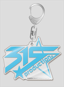 The Idolm@ster Side M Logo Big Acrylic Key Ring 315 Production (Anime Toy)