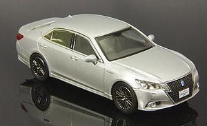 トヨタ クラウン アスリート G 2013 シルバー (ミニカー)