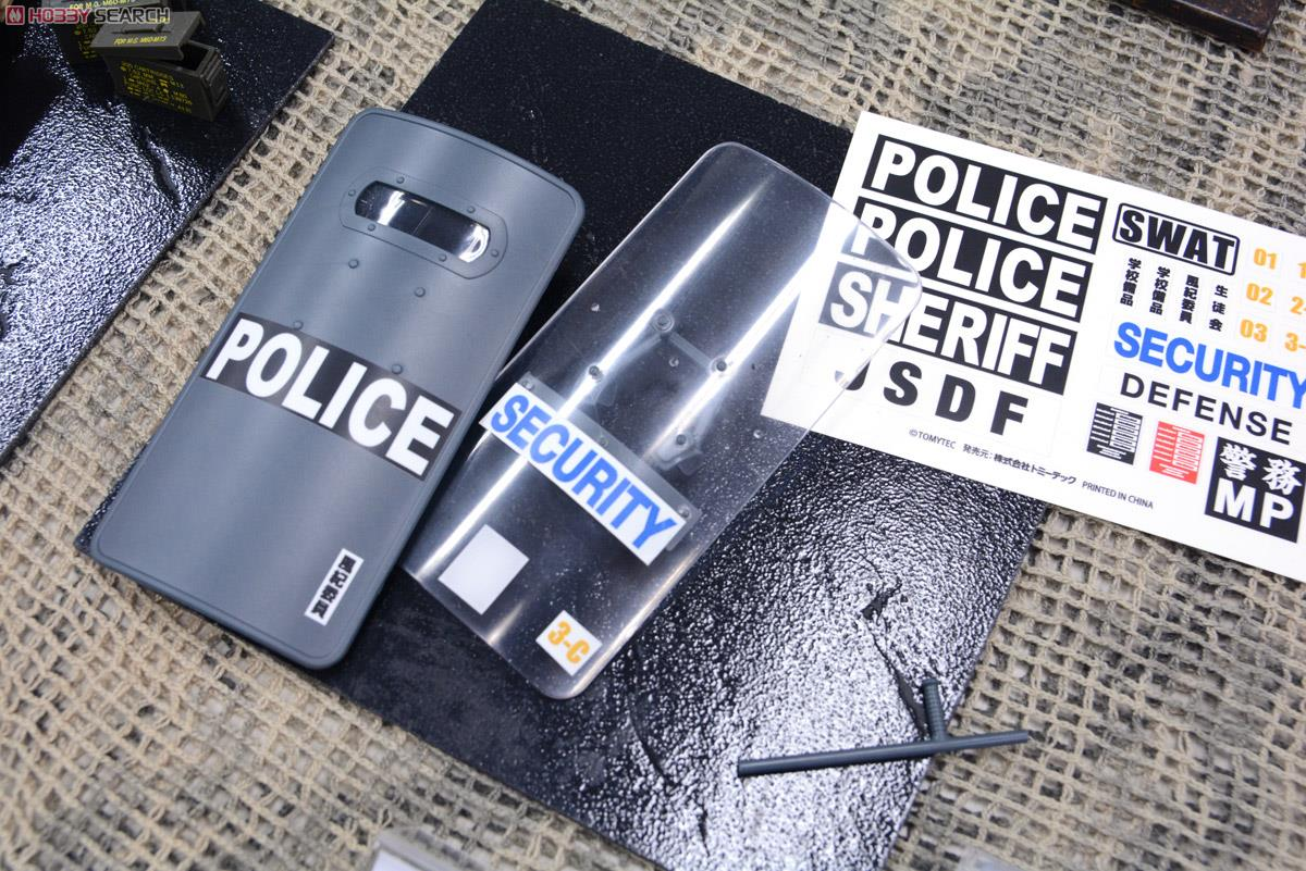 1/12 Little Armory (LD005) Police Shield B Type (Plastic model) Other picture7