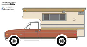 1971 Chevy C10 Cheyenne with Large Camper Hobby Exclusive