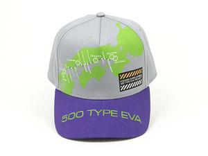 500 TYPE EVA 運行記念キャップ (キャラクターグッズ)