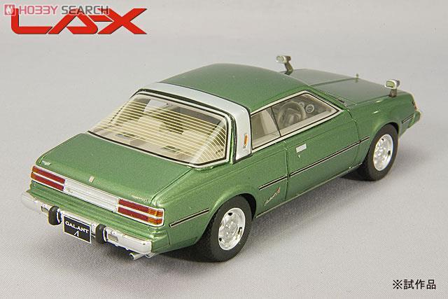 三菱 ギャランΛ スーパーツーリング 1977年 グリーンメタリック (ミニカー)