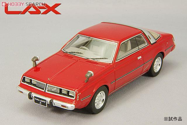 三菱 ギャランΛ スーパーツーリング 1977年 レッド (ミニカー)
