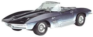 1961 Corvette Mako Shark Dark Blue (ミニカー)