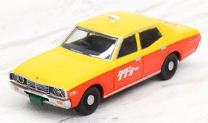 LV-N123a セドリック スタンダードタクシー仕様 75年式 (黄/橙) (ミニカー)