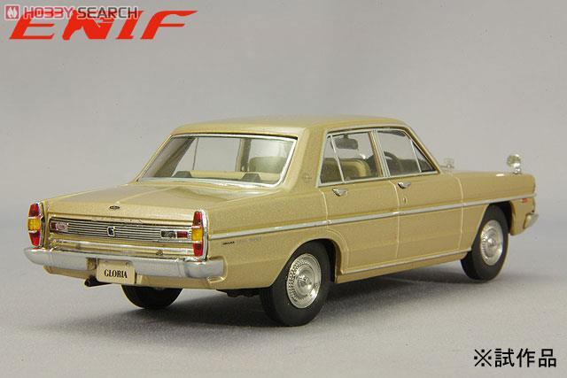 日産 グロリア (PA30) スーパーDX 1968 グロリアゴールド (ミニカー)