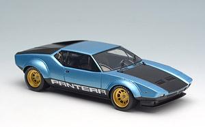 デ・トマソ パンテーラGT4 1974 ライトブルーメタリック/ブラック (ミニカー)
