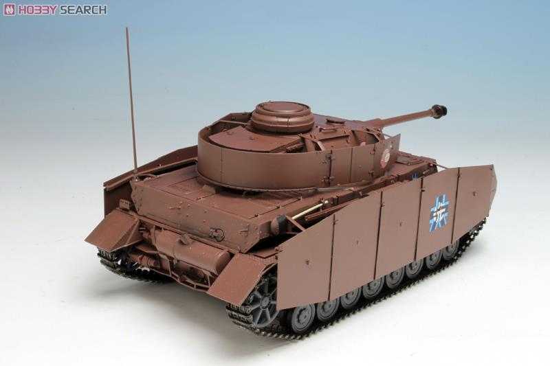 ガールズ&パンツァー IV号戦車D型改 (H型仕様) あんこうチーム 劇場版です! (プラモデル)