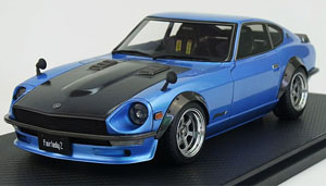Nissan Fairlady Z (S30) Light Blue (ミニカー)