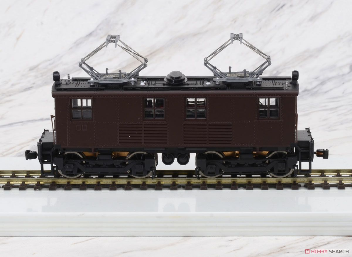 1/80(HO) GE Box-Cab GE Box-Cab Electric Locomotive J.N.R. Class ED11 Painted(Brown), DC (Pre-Colored Completed) (Model Train) Item picture1