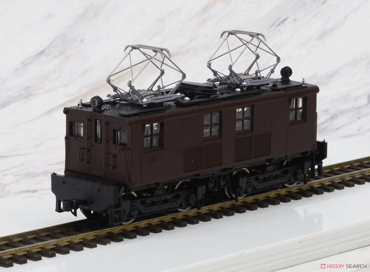 1/80(HO) GE Box-Cab GE Box-Cab Electric Locomotive J.N.R. Class ED11 Painted(Brown), DC (Pre-Colored Completed) (Model Train) Item picture2