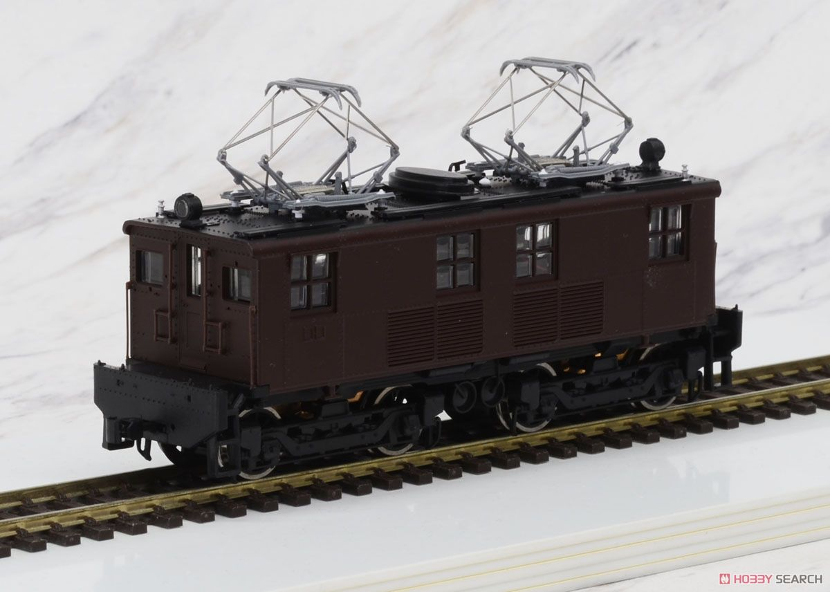 1/80(HO) GE Box-Cab GE Box-Cab Electric Locomotive J.N.R. Class ED11 Painted(Brown), DC (Pre-Colored Completed) (Model Train) Item picture3