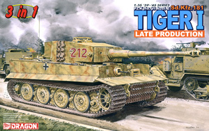 Pz.Kpfw.VI Ausf.E Tiger I Late Production (Magic Track Ver. Special Edition) (Plastic model)