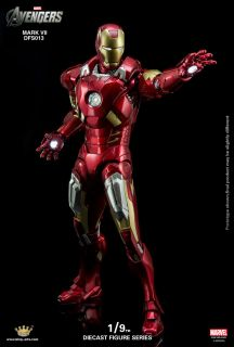 King Arts DFS013 1//9 Scale IRON MAN Mark7 Action Figure