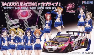 Pacific Racing x Love Live! McLaren MP4-12C GT3 with Mu`s (Model Car)