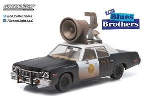 Hollywood - Blues Brothers (1980) - 1974 Dodge Monaco `Bluesmobile` with Horn on Roof (ミニカー)