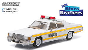 Hollywood - Blues Brothers (1980) - 1977 Dodge Royal Monaco Illinois State Police (ミニカー)