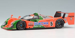 マツダ MX-R01 24h LM 1992 `RENOWN` #5 4th (ミニカー)