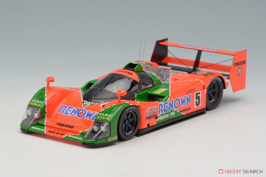 マツダ MX-R01 24h LM 1992 `RENOWN` #5 4th (ミニカー)