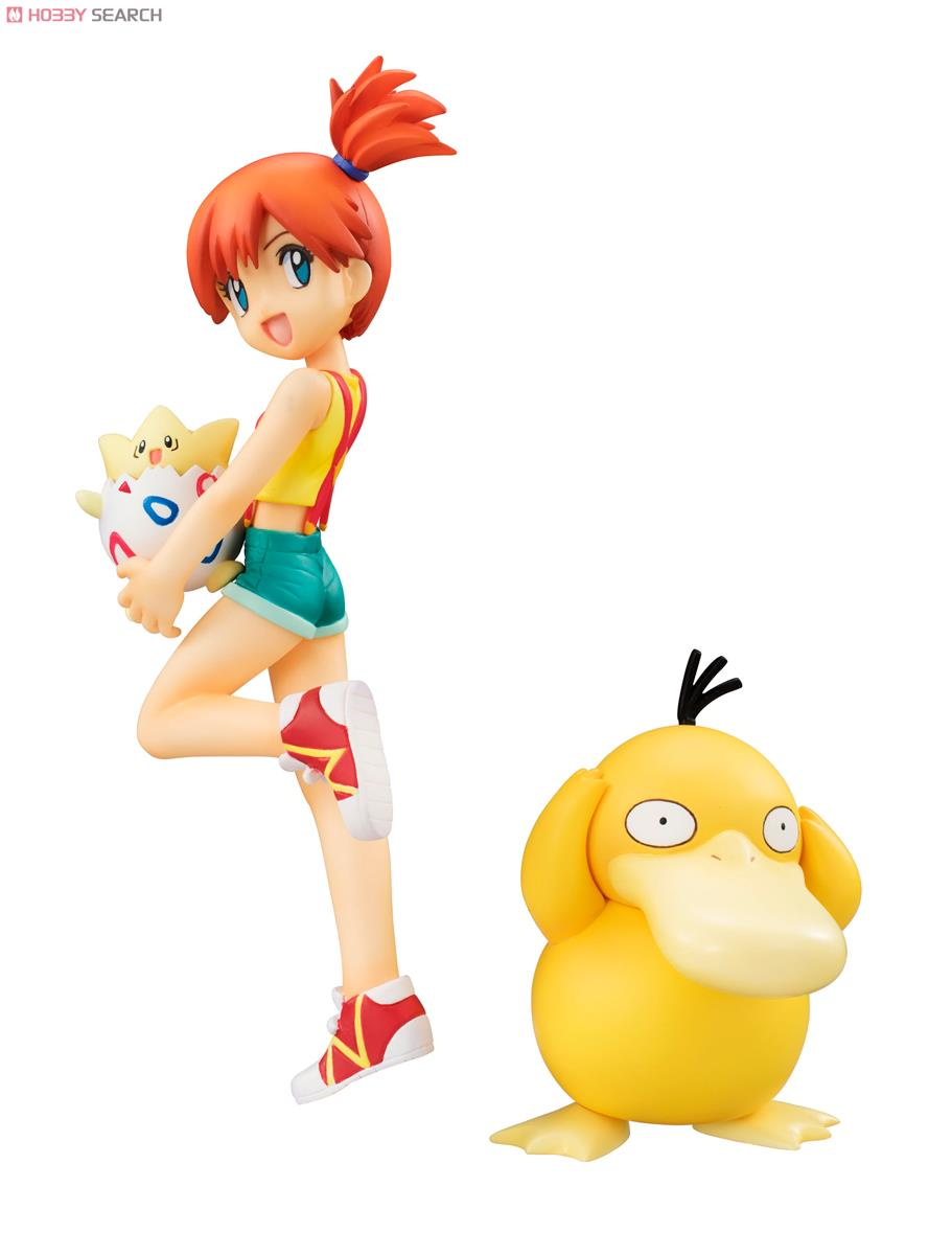 G E M Series Pokemon Misty Togepi And Psyduck Pvc Figure Item Picture2
