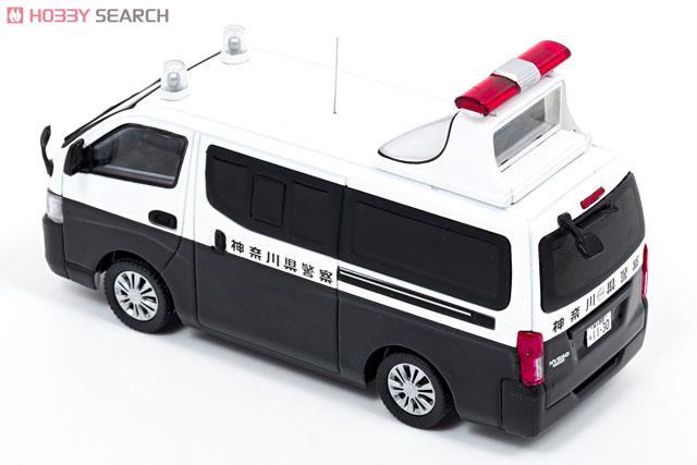 日産 NV350 キャラバン (E26) 2013 神奈川県警察所轄署誘導標識車両 (ミニカー)