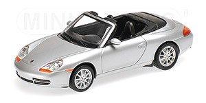 ポルシェ 911 (996) カブリオレ 1998 シルバーメタリック (ミニカー)